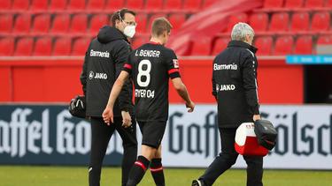 Wird zum Liga-Endspurt nicht mehr fit: Leverkusens Lars Bender