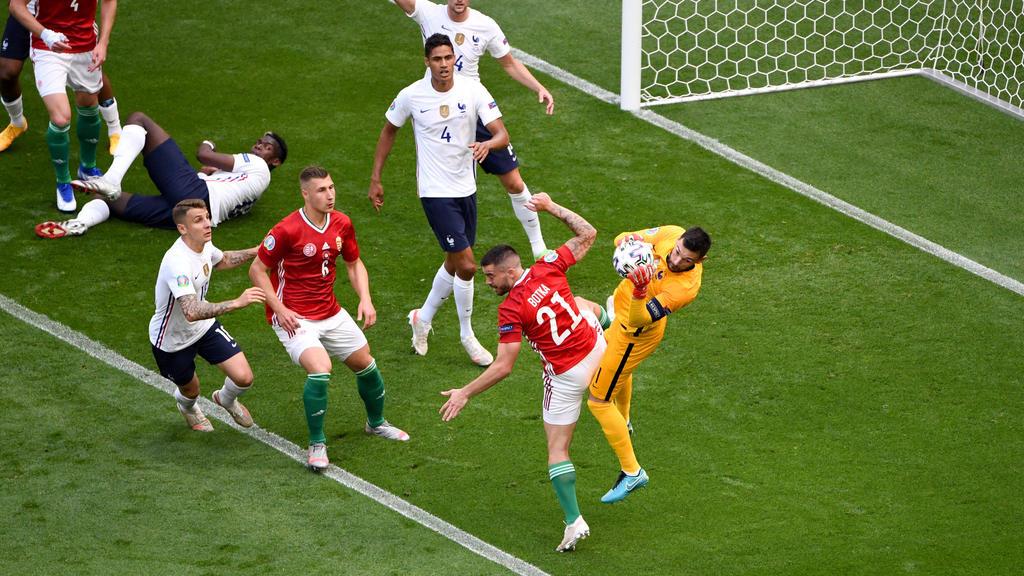 Kein Sieger zwischen Frankreich und Ungarn