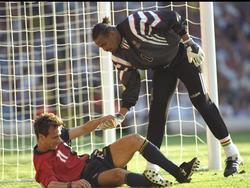 EM 96: Kein Sieger zwischen Frankreich und Spanien