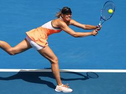 Sharapova in Aktion