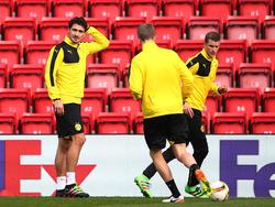 Vorbereitung auf Liverpool