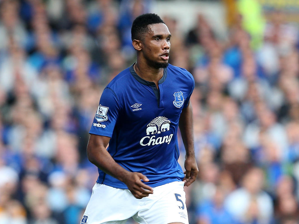 Europa League » News » Eto'o rescues point for Everton in Russia
