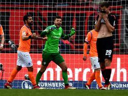 Der 1. FC Nürnberg kassierte gegen Darmstadt den nächsten Rückschlag