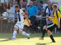Zuletzt kickte Ljubic für Sturm im Testspiel gegen Deutschfeistritz