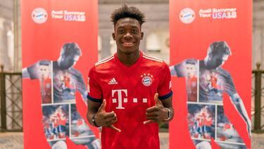 Alphonso Davies wechselt zum FC Bayern (Bild: Twitter: FC Bayern)