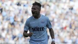 Ciro Immobile geht bei Lazio Rom auf Torejagd