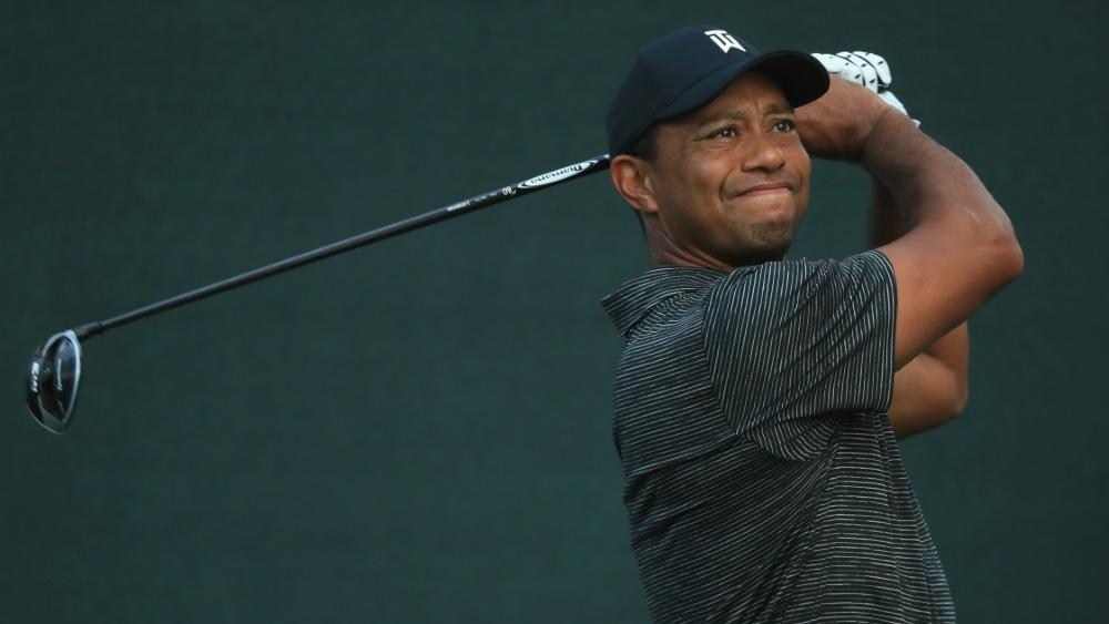 Teil eines spektakulären Duells: Tiger Woods