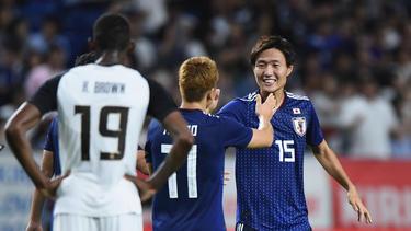 La selección asiática fue muy superior durante los noventa minutos. (Foto: Getty)