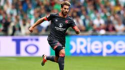 Enrico Valentini wird dem 1. FC Nürnberg auch gegen Bayer Leverkusen fehlen