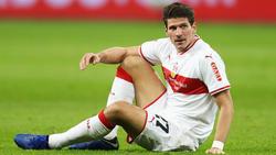 Mario Gomezs steckt mit dem VfB Stuttgart im Abstiegskampf