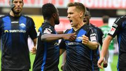 Bernard Tekpetey und Philipp Klement sind beim FC Schalke 04 im Gespräch