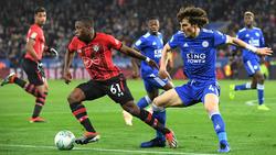 Leicester schlägt Southampton im League-Cup