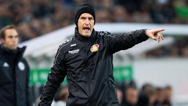 Heiko Herrlich will mit Bayer auf Sieg spielen