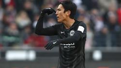 Makoto Hasebe von Eintracht Frankfurt droht eine Strafe