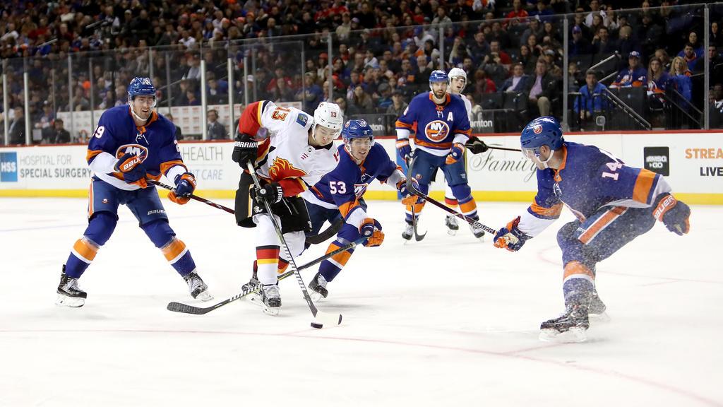 Die New York Islanders verloren gegen Calgary