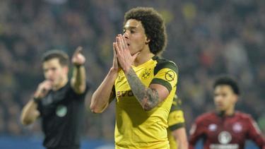 BVB-Star Axel Witsel konnte seine Enttäuschung nicht verbergen
