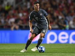 James Rodríguez podría regresar al Madrid este verano. (Foto: Getty)