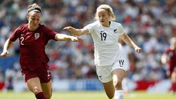 England hat gegen Neuseeland gepatzt
