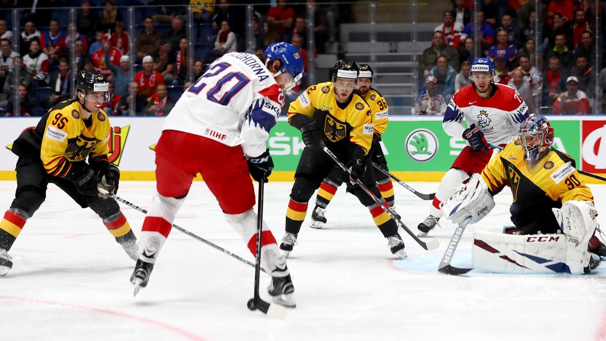 Die deutsche Eishockey-Nationalmannschaft verlor in der ersten K.o.-Runde gegen Tschechien