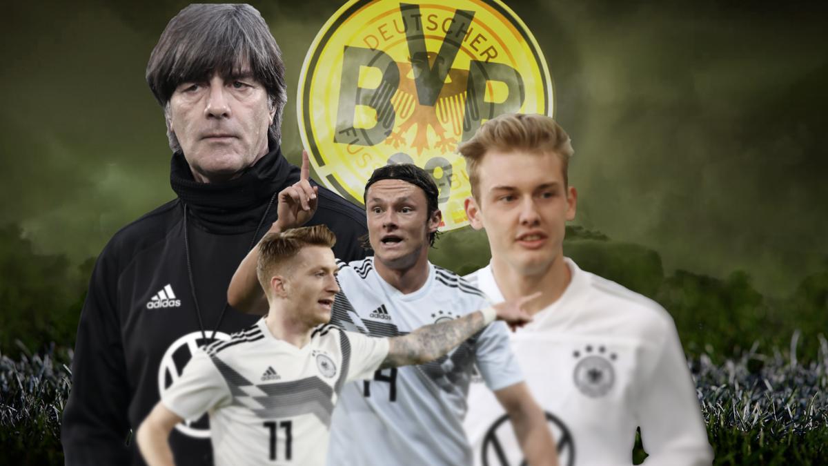 Drei BVB-Spieler in der Nationalmannschaft: Nico Schulz, Julian Brandt und Marco Reus