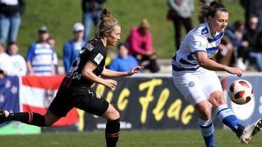 Meikayla Moore (r.) fehlt Neuseeland bei der WM