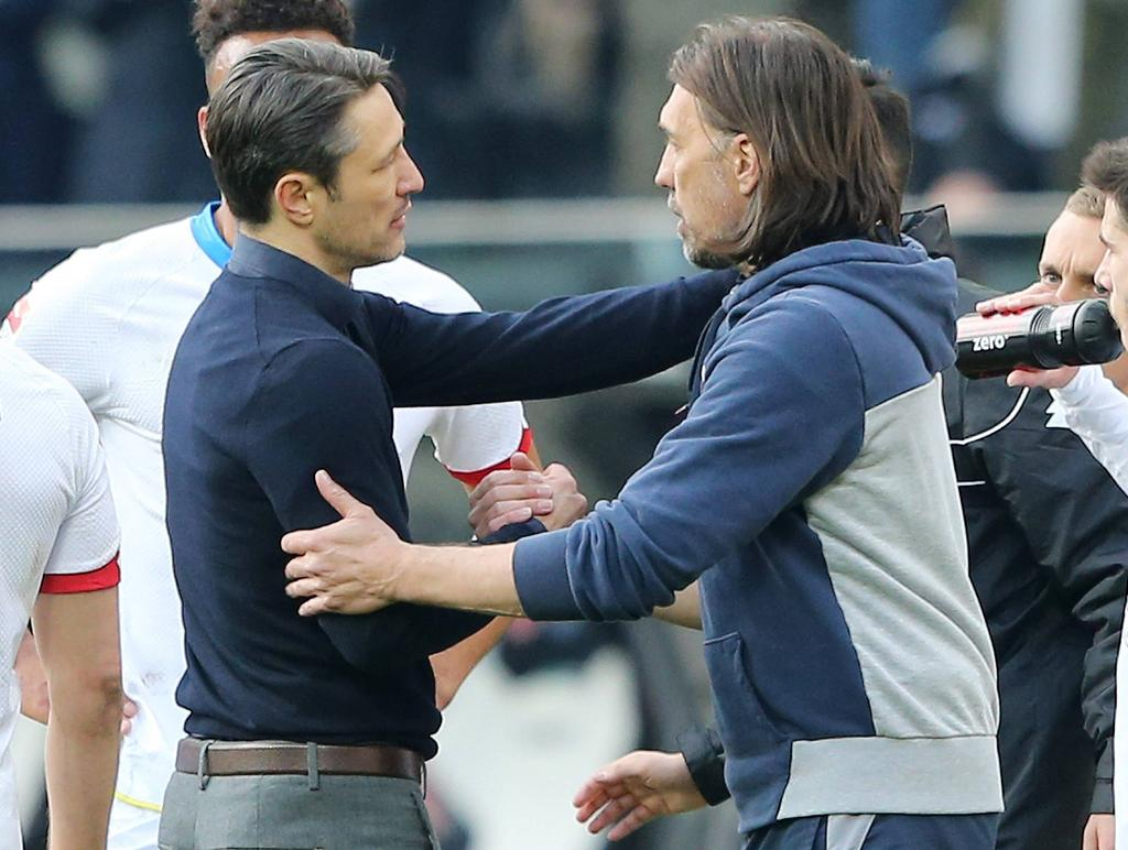 Niko Kovač und Martin Schmidt haben großen Respekt voreinander