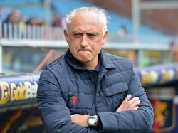 Andrea Mandorlini durfte nur zwei Monate beim CFC Genua auf der Bank sitzen