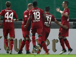 Bayer Leverkusen gewinnt in der Verlängerung gegen den Karlsruher SC