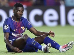 Ousmane Dembélé ist beim Spiel gegen den FC Getafe verletzt ausgewechselt worden