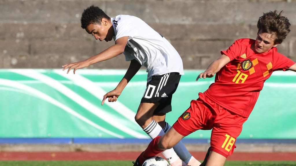 Jamal Musiala (l.) wechselt wohl zum FC Bayern