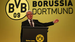 Reinhard Rauball ist seit 2004 Präsident des BVB