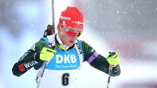 Denise Herrmann enttäuschte als 41. im Sprint von Hochfilzen