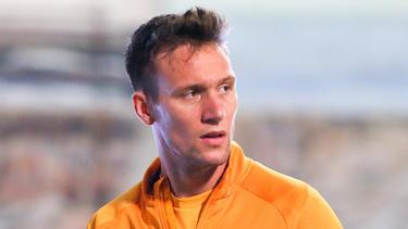 Tim Knipping spielt seit 2020 für Dynamo Dresden