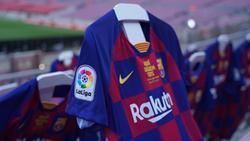 Der Trikot-Sponsor des FC Barcelona leistete sich eine kostspielige Panne