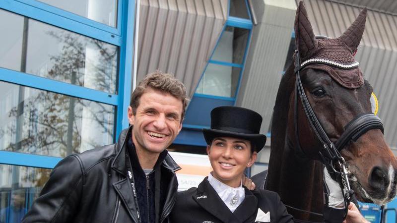 Sportler-Paar: Thomas und Lisa Müller