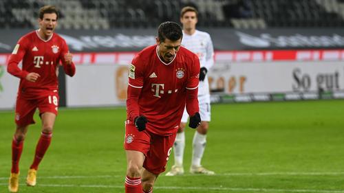Robert Lewandowski trifft beim FC Bayern nach Belieben
