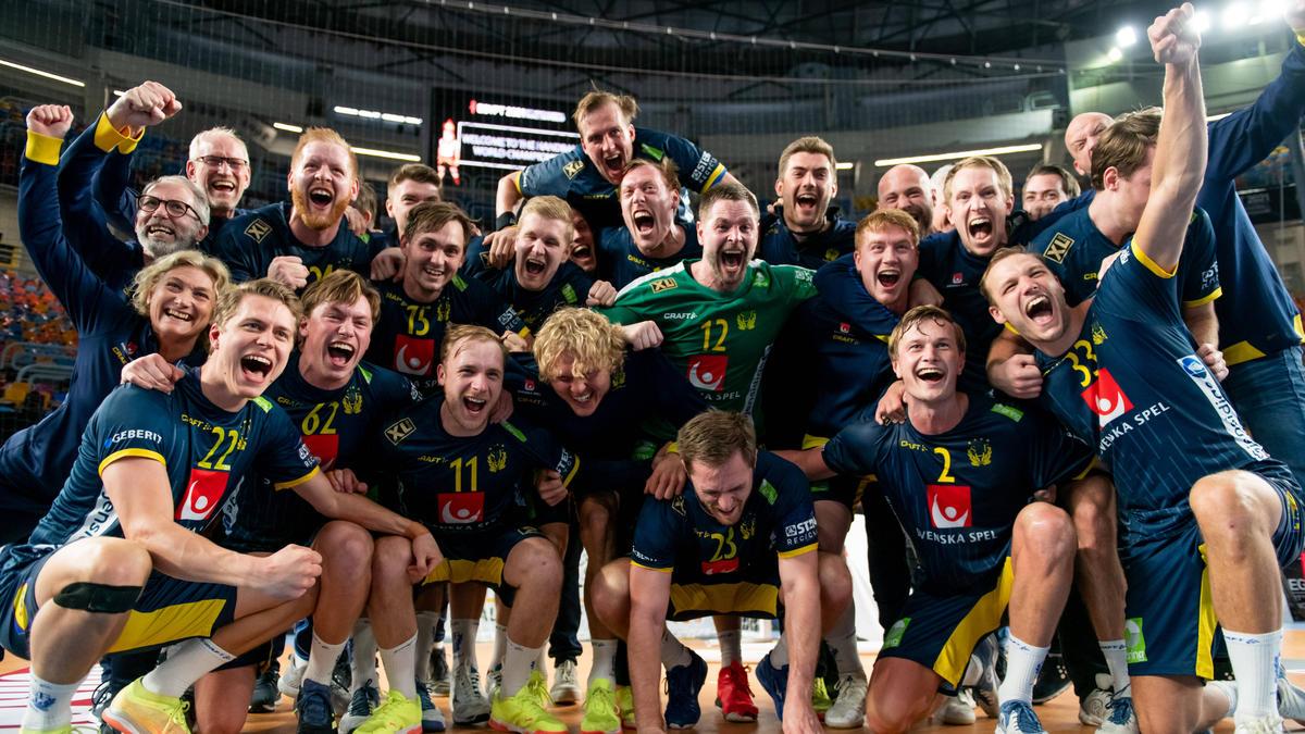 Die Schweden greifen nach dem WM-Titel