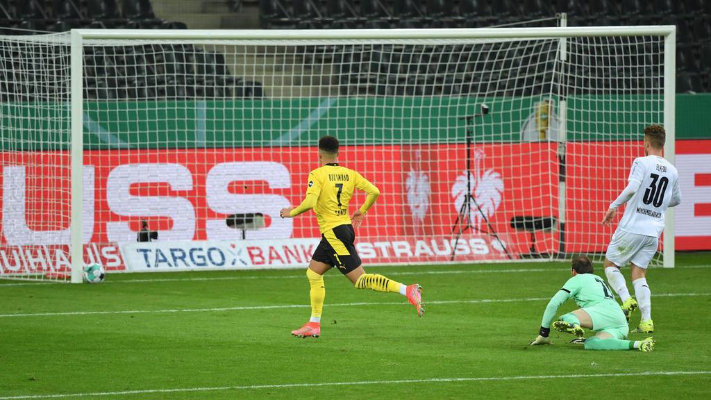 Jadon Sancho erzielte das Tor des Abends für den BVB