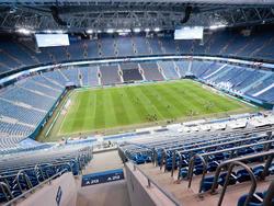 Bei der EM soll die Arena in St. Petersburg zumindest zur Hälfte besetzt sein