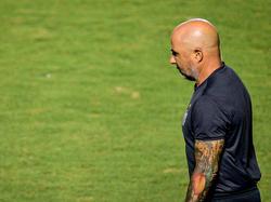 Sampaoli no ha triunfado en el campeonato brasileño.
