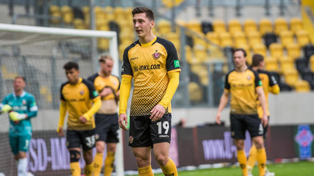 Dynamo Dresden kam gegen den 1. FC Saarbrücken  nicht über ein Remis hinaus