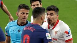 Viel Ärger zwischen Atlético und Sevilla