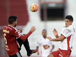 Huracán sichert sich einen knappen Vorsprung für Rückspiel
