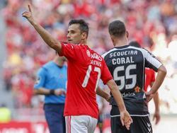 Jonas erzielte gegen Nacional seine Saisontore elf und zwölf