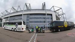 Bus geparkt