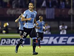 Martín Cáceres en una imagen de archivo con Uruguay. (Foto: Imago)