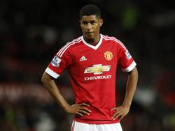 Marcus Rashford en un encuentro de Premier League (Foto: Getty)