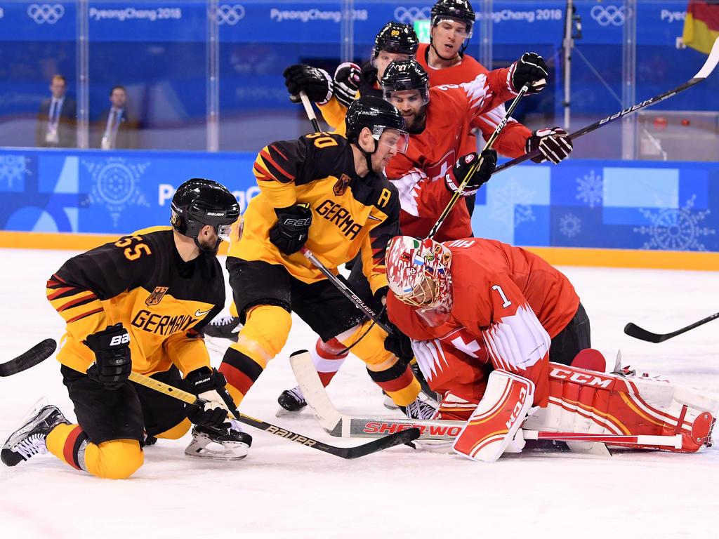 Deutsche Eishockey-Nationalmannschaft erreicht Olympia-Viertelfinale