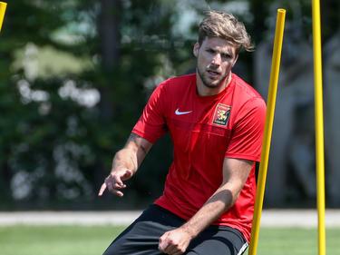 Philipp Zulechner hält sich bei der Admira fit und hofft, sich bald in einem Testspiel empfehlen zu können