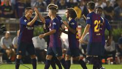El Barcelona tuvo la suerte de cara en los once metros. (Foto: Getty)